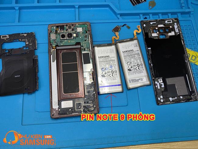thay pin Samsung Note 9 chính hãng giá bao nhiêu