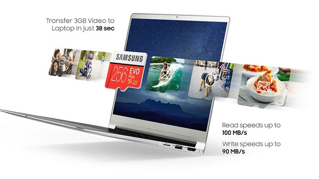 Thẻ nhó Samsung 256gb