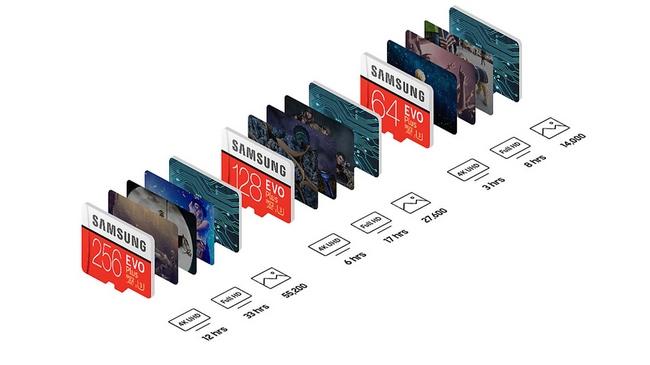 Thẻ nhớ Samsung microSDXC EVO Plus 256GB chính hãng