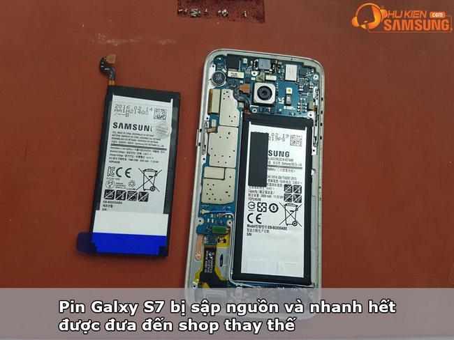 Thay Pin Samsung S7, S7 Edge, S7 Active chính hãng