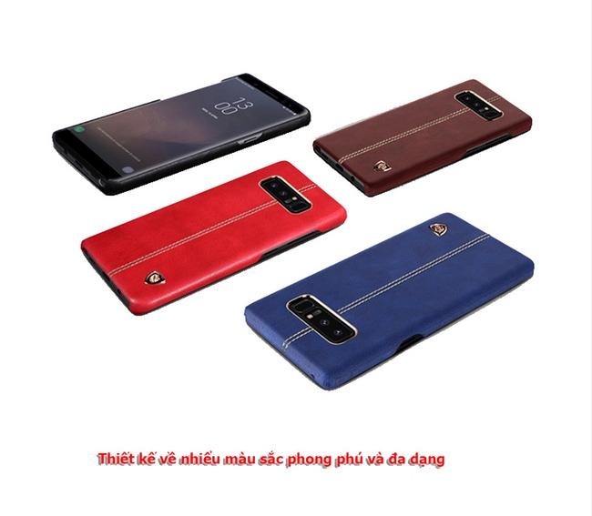 Ốp lưng da Galaxy Note 8 hiệu Nillkin Englon Leather