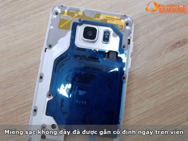 Thay viền benzen Galaxy Note 5 chính hãng