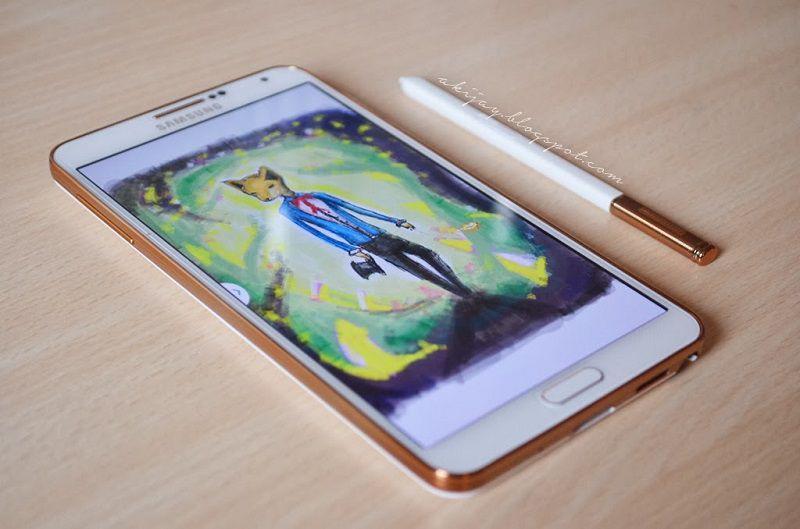 Bút S pen Galaxy Note 3 đi theo máy màu gold
