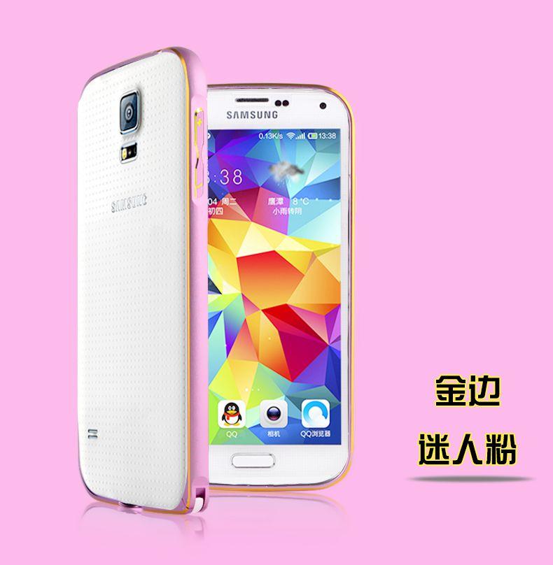 Ốp viền chỉ vàng Samsung Galaxy S5 G900