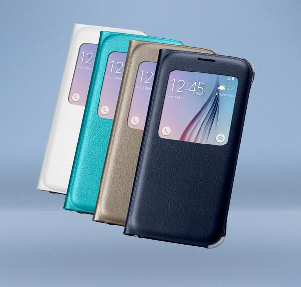 Các màu của Bao da Sview s6 Edge chính hãng Samsung