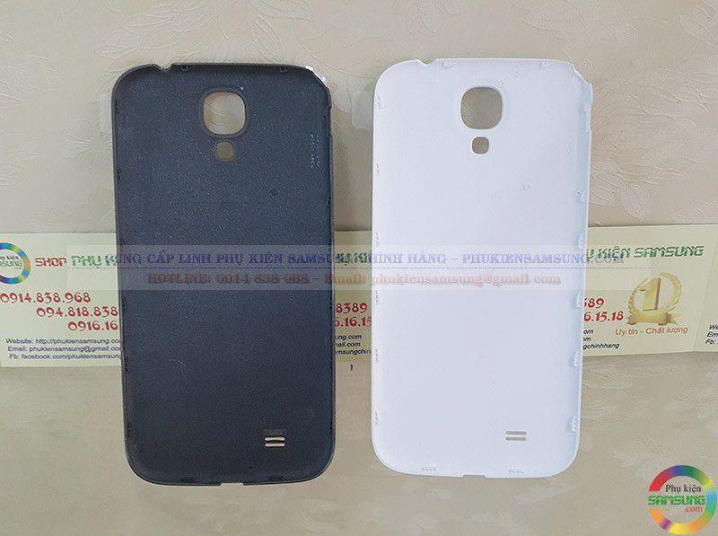 Nắp lưng Galaxy S4 LTE với 2 màu trắng và đen