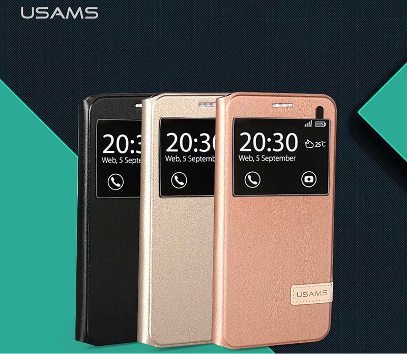 Bao da Sview Samsung Galaxy A7 2016 hiệu Usams