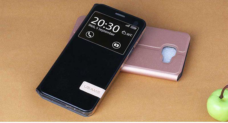 Bao da Sview Galaxy A7 2016 hiệu Usams