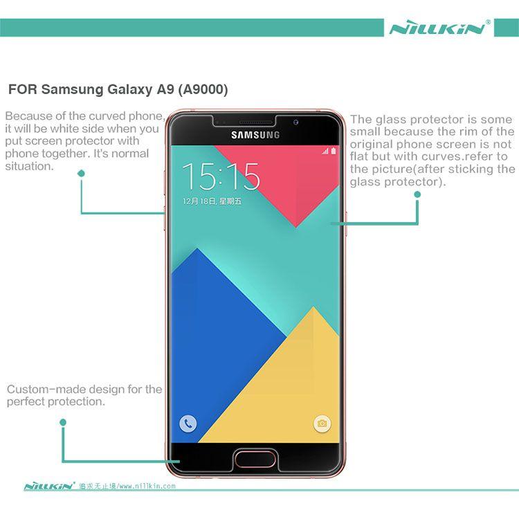 Kính cường lực Samsung Galaxy A9 hiệu Nillkin