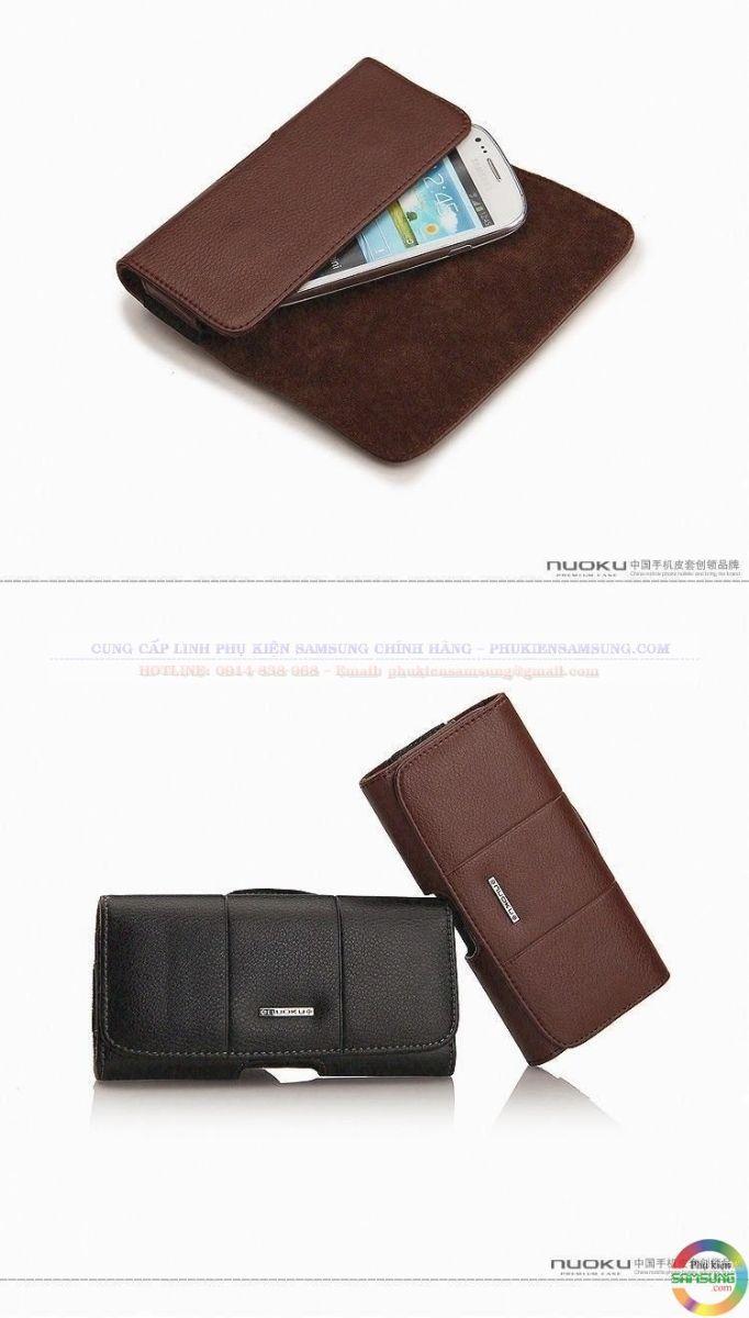 Bao da đeo lưng Note 4 hiệu Nuoku chính hãng