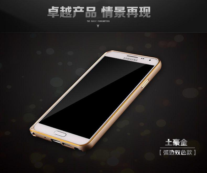 Ốp viền chỉ vàng Galaxy Note 3 Neo