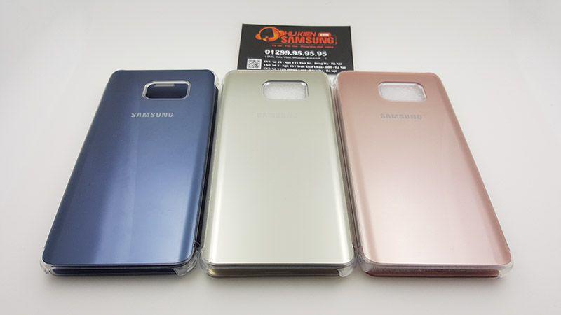 Mặt sau của bộ sản phẩm Clear View Galaxy Note 5