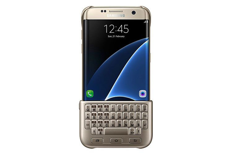 Ốp lưng kiêm bàn phím Samsung Galaxy S7 Edge chính hãng