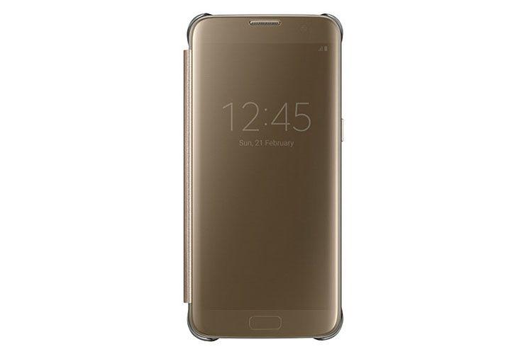 Bao da Clear View Cover Samsung S7 Edge chính hãng