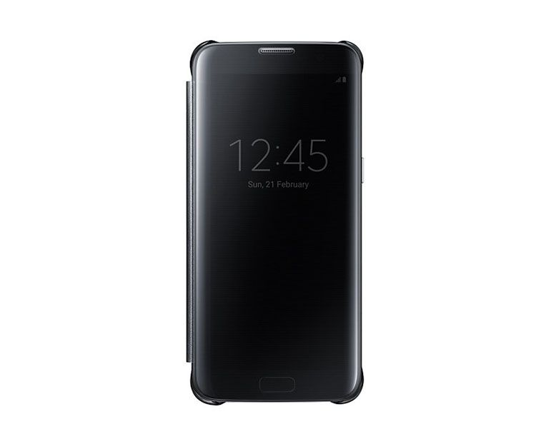 Bao da Clear View Cover Samsung Galaxy S7 Edge chính hãng