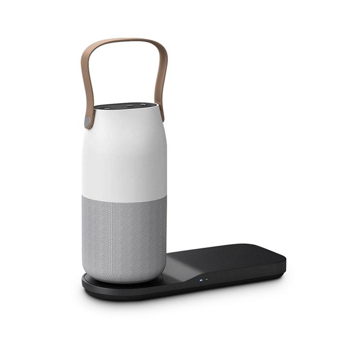 Có thể sử dụng sạc không dây để sạc cho loa bluetooth Bottle