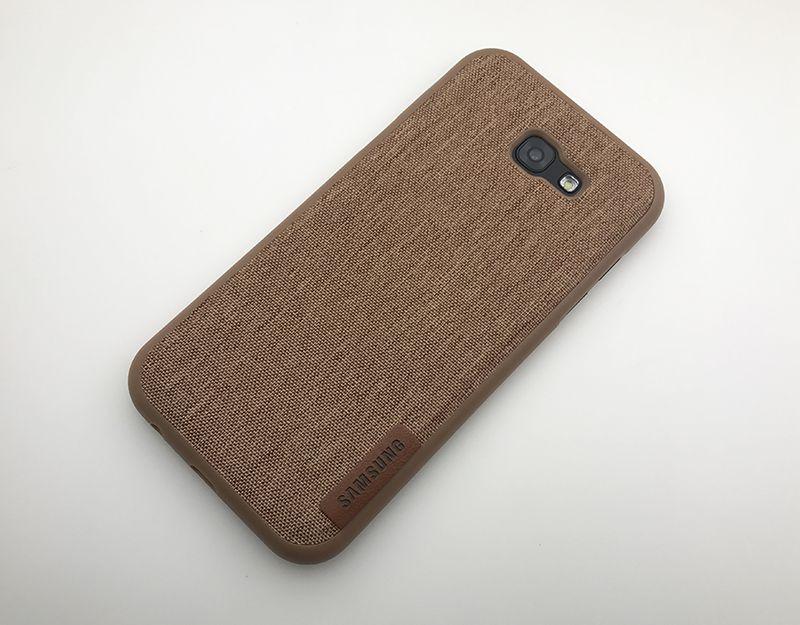 Ốp lưng galaxy A7 2017 thiết kế dạng vải
