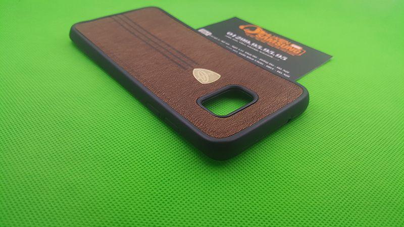 Ốp lưng Silicon giả da Galaxy S7 Edge