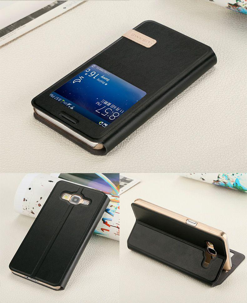 Bao da Galaxy A7 hiệu Usams màu đen