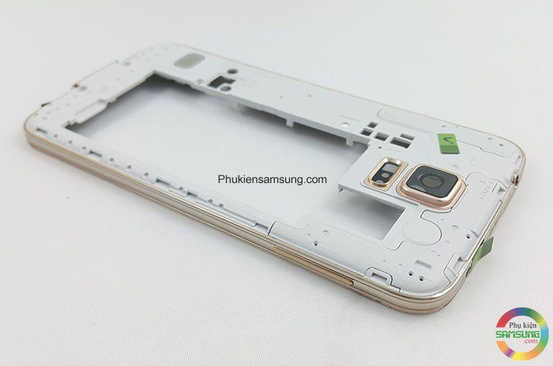 Viền Benzen Samsung Galaxy S5 màu gold