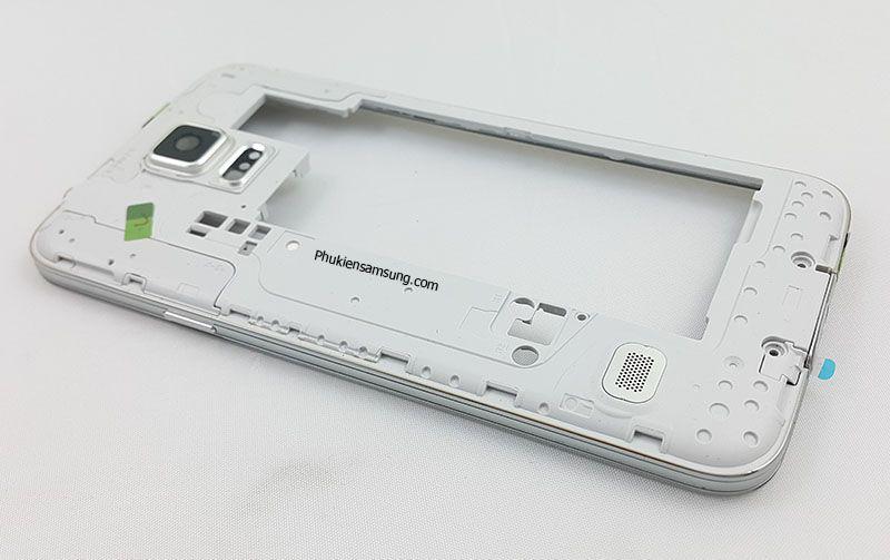 Viền Benzen màu trắng cho Samsung Galaxy S5