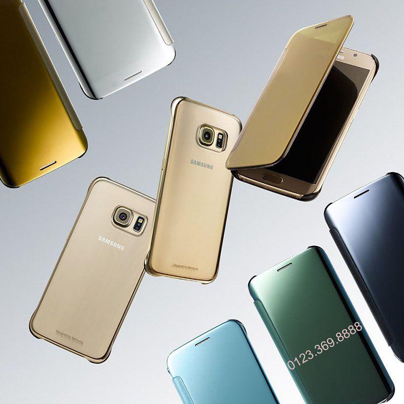 Bao da Clear View cover Galaxy S6, một sự kết hợp hoàn hảo