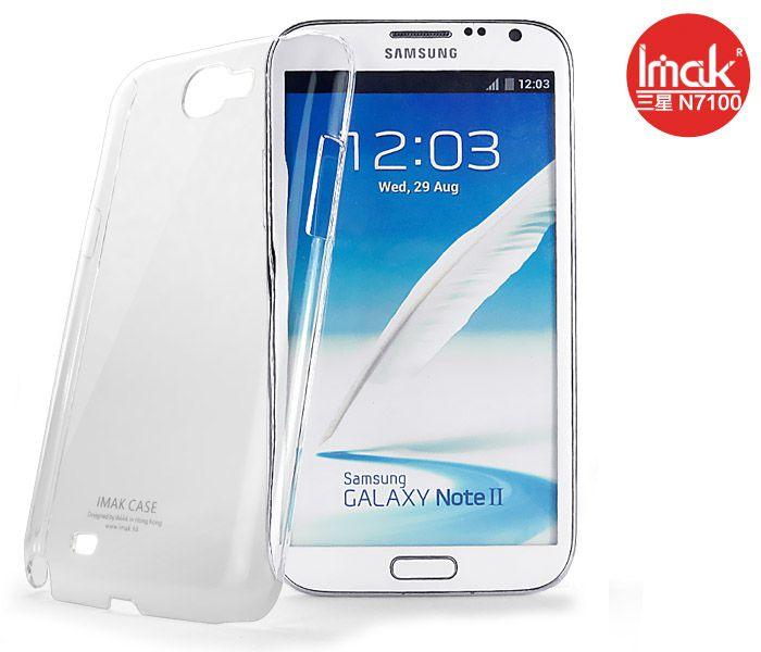 Ốp lưng trong suốt cho Samsung Galaxy Note 2 hiệu imak