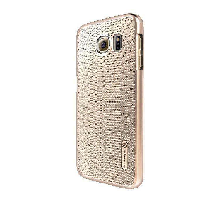 Ốp lưng Galaxy S6 hiệu Nillkin màu vàng sâm panh