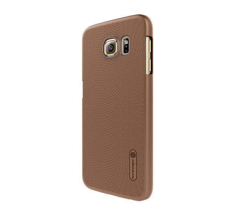 Ốp lưng Galaxy S6 hiệu Nillkin màu nâu