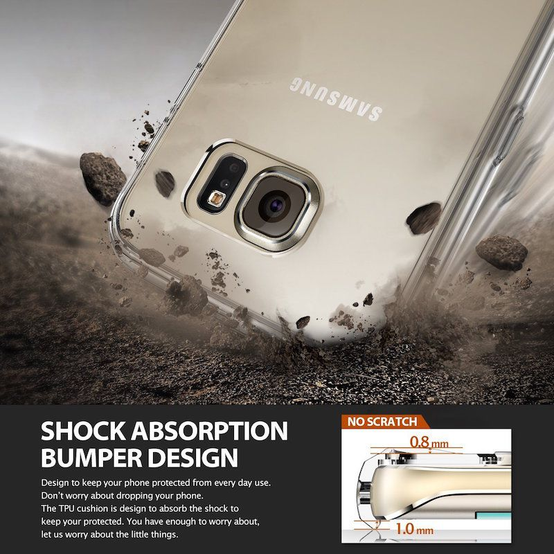 Ốp lưng Silicon cho Galaxy S6 Edge