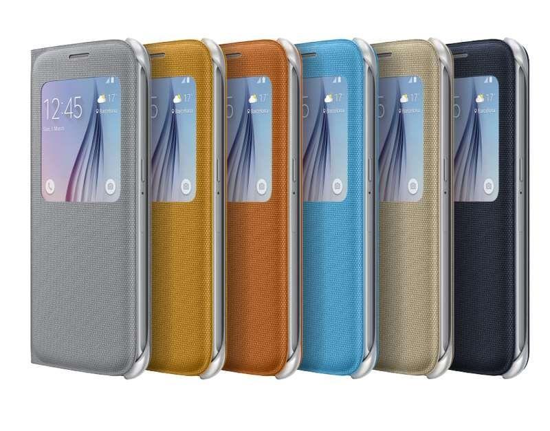 Bao da S View cover Samsung Galaxy S6 chính hãng