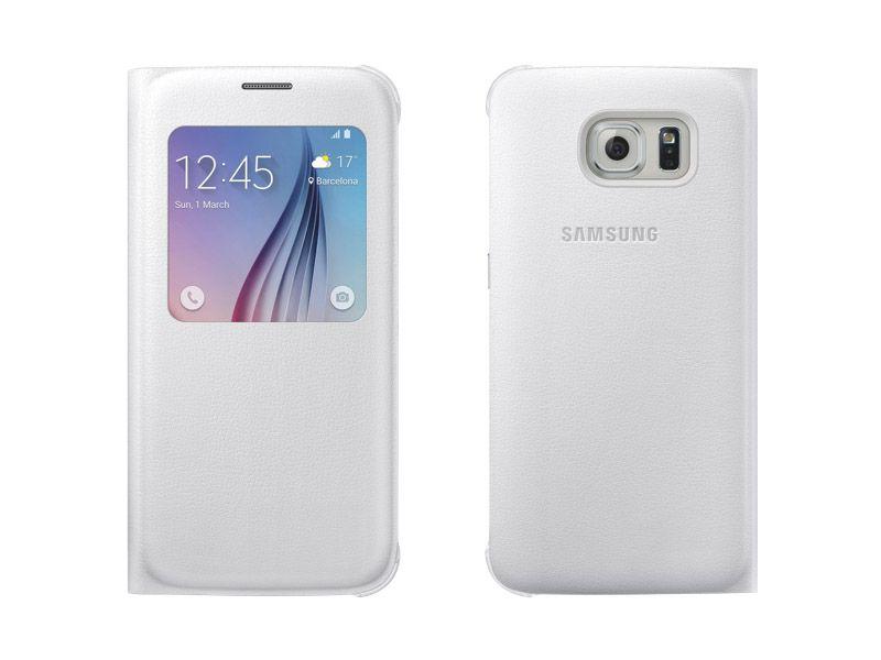 S View Galaxy S6 màu trắng