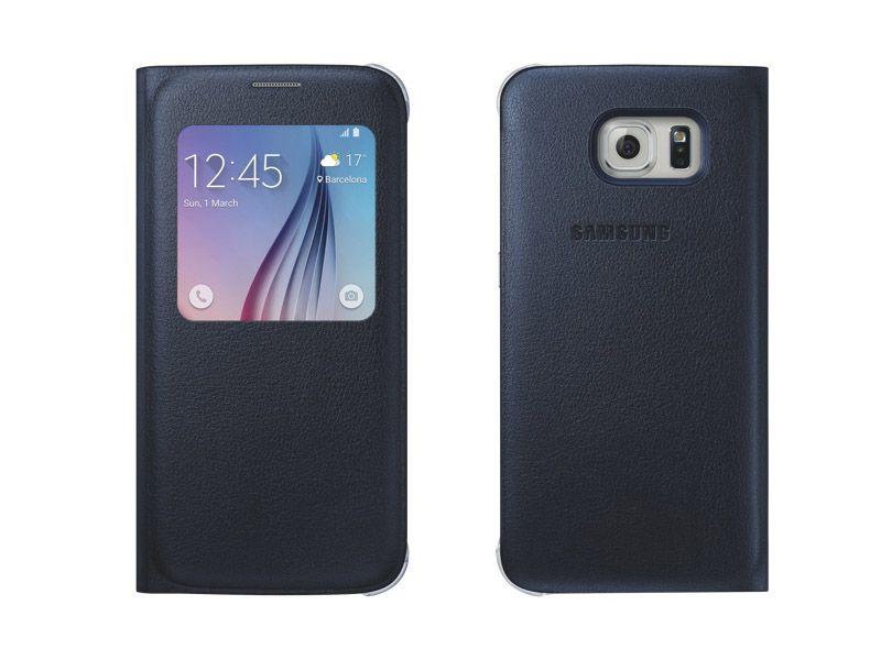 Bao da S View Galaxy S6 màu đen