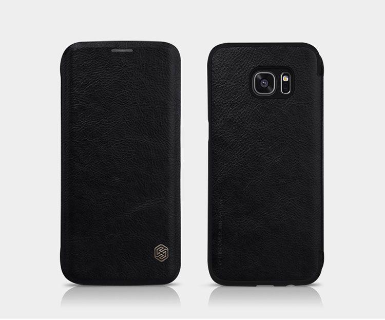 Bao da Galaxy S7 Edge hiệu Nillkin Qin