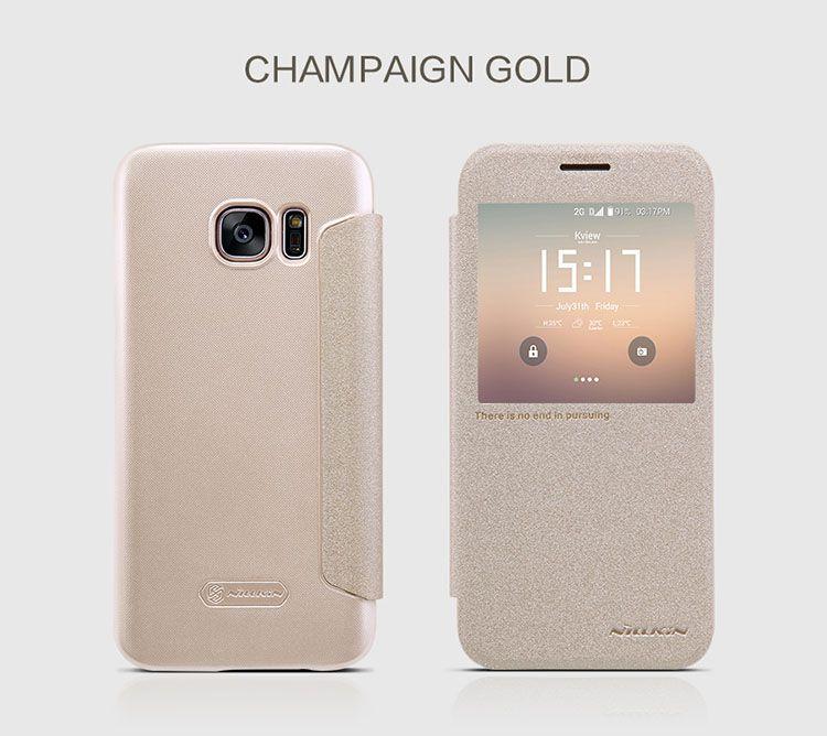 Bao da Sview Galaxy S7 Nillkin