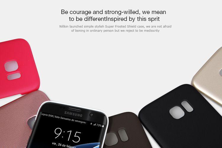 Ốp lưng Galaxy S7 Edge hiệu Nillkin chính hãng