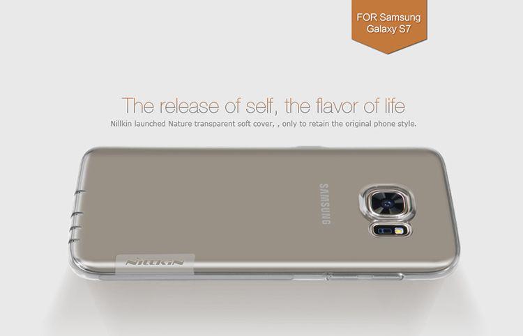 Ốp lưng Silicon Galaxy S7 hiệu Nillkin