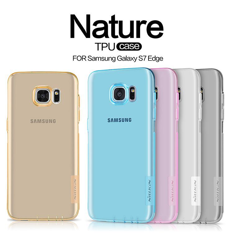 Ốp lưng Slicon Galaxy S7 Edge hiệu Nillkin