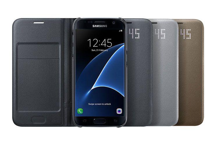 Bao da Led View Galaxy S7 chính hãng
