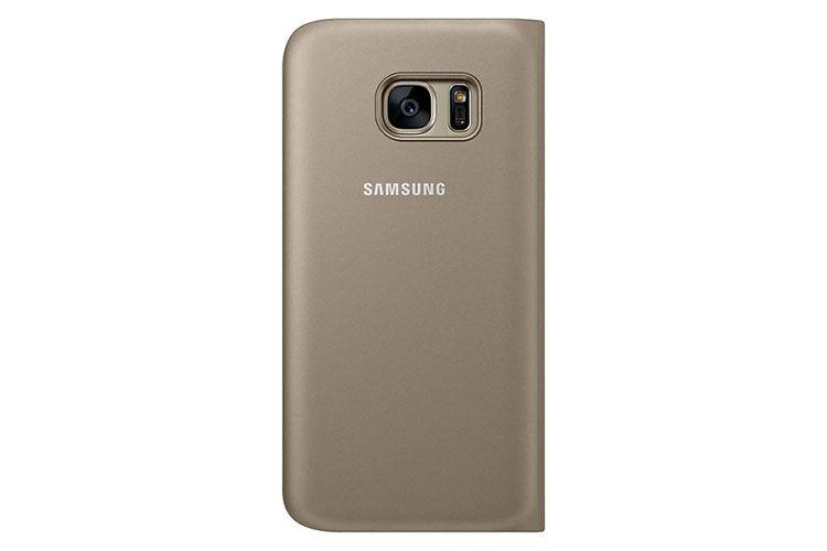 Bao da Sview Galaxy S7 chính hãng