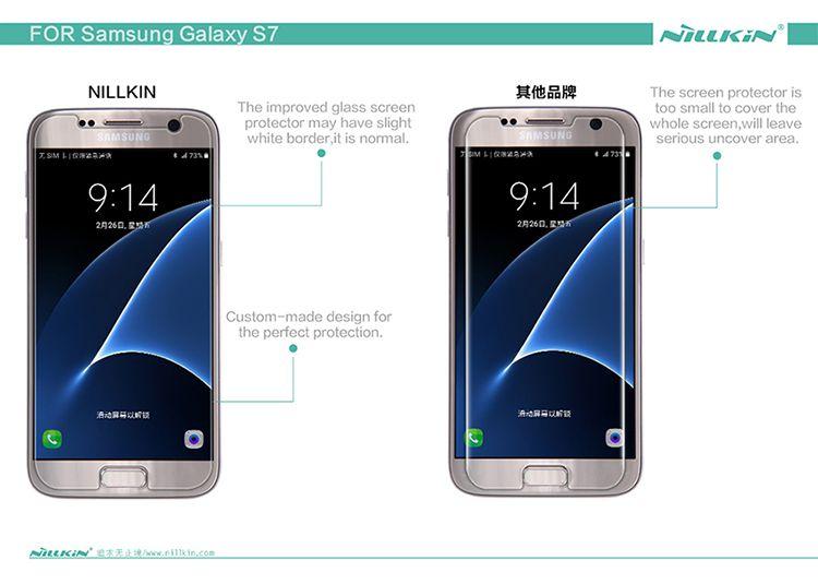 Kính cường lực Samsung Galaxy S7 hiệu Nillkin