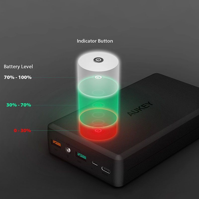 Pin tích điện Aukey PB-Y3 30.000 mAh