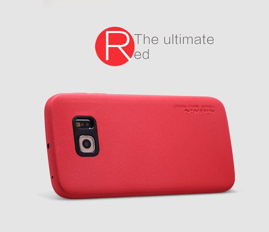 Ốp lưng Galaxy S6 Nillkin Leather case