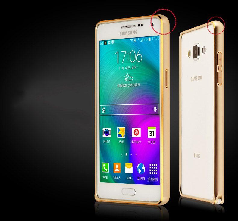 Ốp viền chỉ vàng Galaxy A5