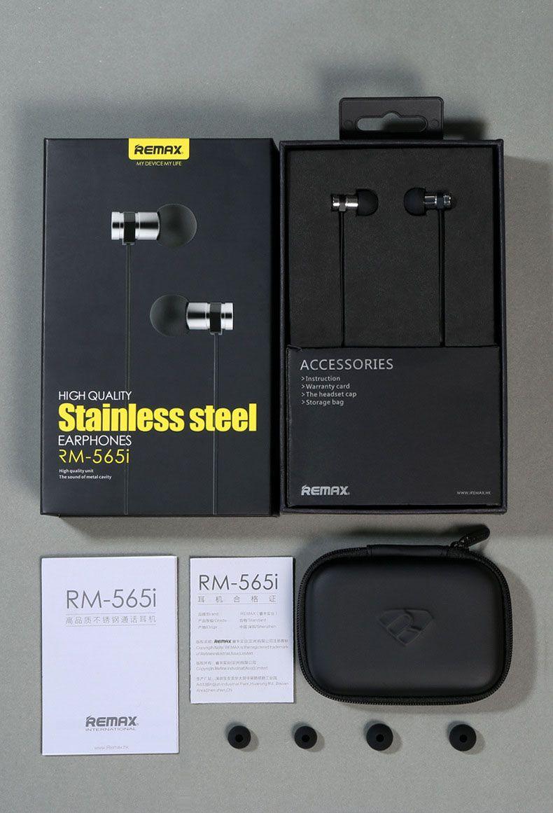 Tai nghe chính hãng Remax Rm565i nguyên hộp