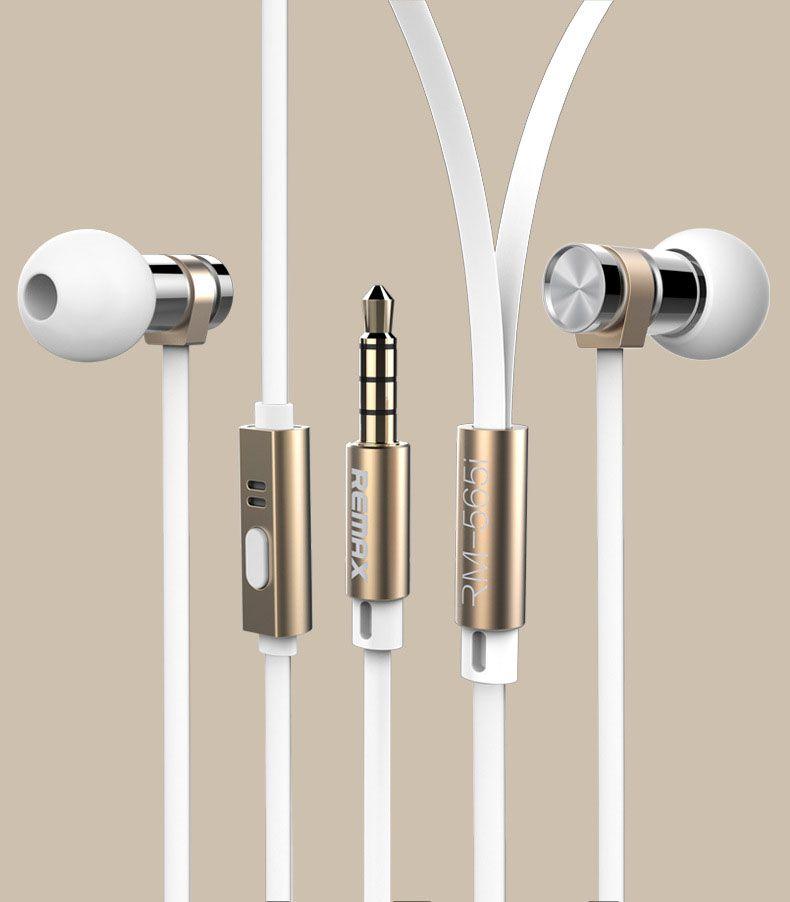 Tai nghe chính hãng Remax Rm565i màu trắng