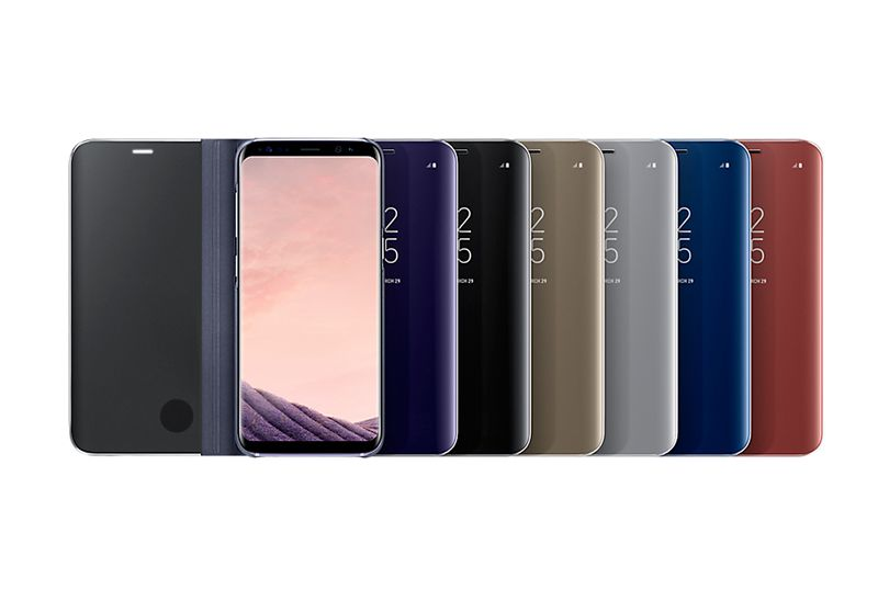 Bao da Clear View Galaxy S8 chính hãng