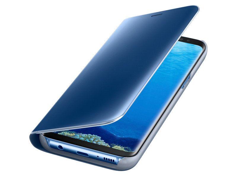 Bao da Galaxy S8 Clear View Standing Cover chính hãng