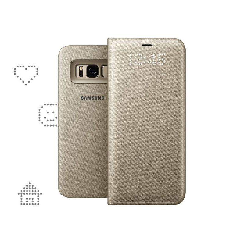 Bao da Galaxy S8 Led view cover chính hãng