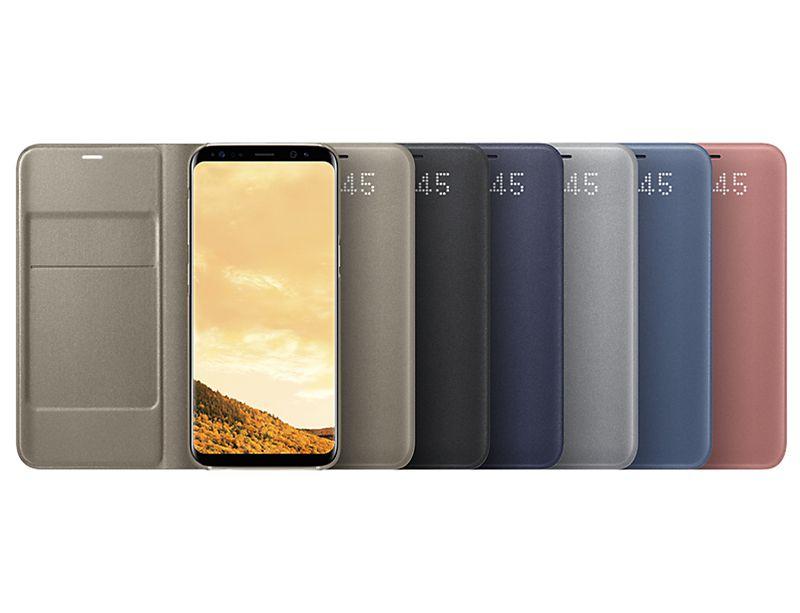 Cập nhật hình ảnh bao da Clear View Galaxy S8 Plus chính hãng